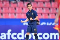 Cầu thủ Thái Lan bất ngờ nhận giải Vua phá lưới tại U23 Châu Á