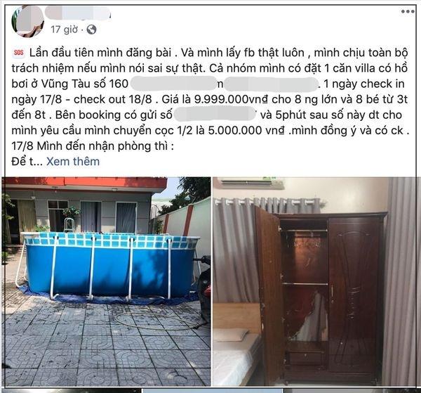 dat villa 10 trieu o vung tau khach nhan duoc can phong thua xa nha nghi