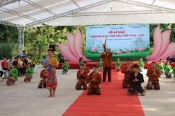 """Ấn tượng  """"Không gian văn hóa Việt Nam – Lào"""" tại Đại học Thái Nguyên"""