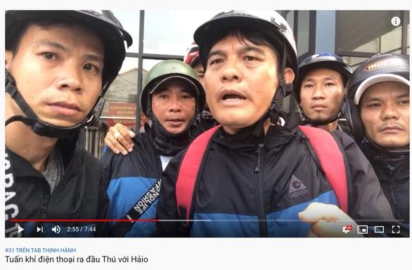 cong an lam viec voi nguoi nguoi phat tan thong tin tuan khi goi dien ra dau thu
