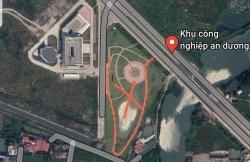"""Yêu cầu Công ty Thâm Việt (Trung Quốc) phá bỏ mô hình giống """"đường lưỡi bò"""" trong khuôn viên nhà điều hành"""