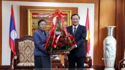 Đại sứ quán Việt Nam tại Lào và Campuchia: Nhiều hoạt động mừng sinh nhật lần thứ 90 của Đảng