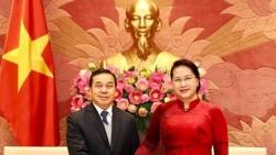Đại sứ Lào tại Việt Nam khẳng định sẽ nỗ lực thúc đẩy quan hệ hợp tác và phát triển hai nước