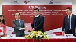 JICA sẽ hỗ trợ Đại học Việt Nhật ở nhiều hạng mục