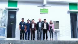 GNI tài trợ gần 500 triệu đồng xây nhà vệ sinh cho trường Trung học phổ thông Tuyên Quang