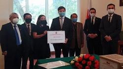 Đại sứ Ba Lan tại Việt Nam ghi nhận sự hỗ trợ của người Việt trước COVID-19