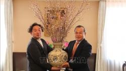 Tỉnh Fukushima tặng hoa anh đào cảm ơn sự giúp đỡ của Việt Nam sau thảm họa động đất, sóng thần