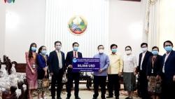 Doanh nghiệp Việt tài trợ 30.000 USD giúp Lào chống COVID-19