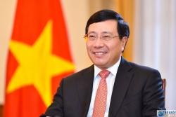 Ông Phạm Bình Minh: Kiên quyết đấu tranh với các hành động vi phạm chủ quyền