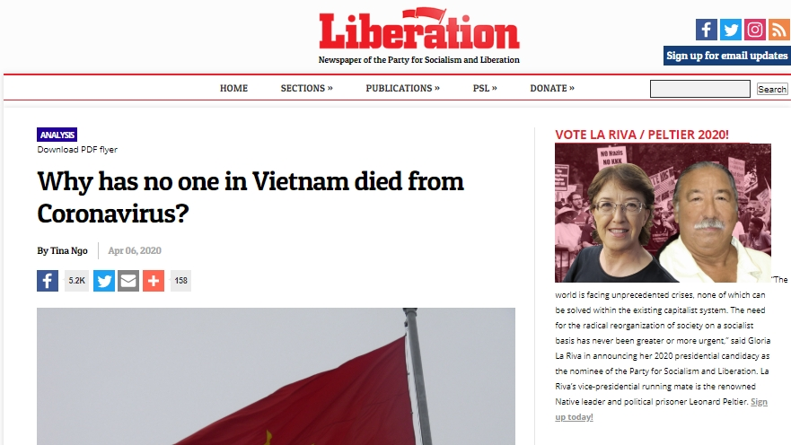 bao liberation news my viet nam la quoc gia dien hinh ve chu dong ung pho covid 19