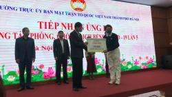 Hội Từ Thiện TZU CHI tại Hà Nội ủng hộ 10.000 khẩu trang y tế chống dịch COVID-19