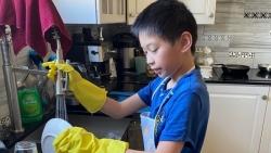 Mẹ Việt tại Canada tích trữ lương thực đủ dùng trong 1 tháng để đương đầu với COVID-19