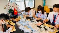 """Cộng đồng người Việt Nam tại Nhật Bản đoàn kết như """"thời chiến"""" chống dịch COVID-19"""