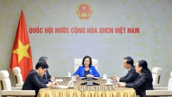 Bổ sung 100 lao động kỹ thuật cao của Việt Nam tham gia hoàn thiện nhà Quốc hội Lào