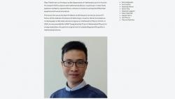 Giáo sư gốc Việt nhận giải thưởng danh giá của Hội toán học châu Âu