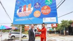 Khai trương biển truyền thông cho Đường dây nóng tư vấn và hỗ trợ nạn nhân mua bán người 111 tại Nghệ An