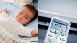 Sử dụng điều hòa thế nào phù hợp và an toàn cho trẻ em