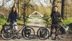 Cặp đôi vợ Việt chồng Pháp đạp xe qua 18 quốc gia để gây quỹ cho trẻ em nghèo