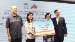 HUFO ủng hộ 100 triệu đồng giúp nhân dân Bulgaria chống COVID-19