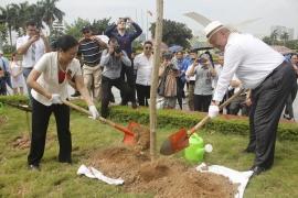 Gieo những mầm xanh của hòa bình và tình hữu nghị hai nước Việt Nam - Liên bang Nga