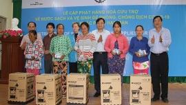 UNICEF hỗ trợ 500 hộ dân chịu ảnh hưởng của hạn hán và dịch COVID-19 tại 3 xã thuộc tỉnh Ninh Thuận