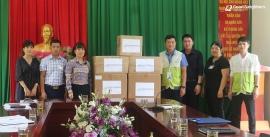 GNI trao tặng 20.000 khẩu trang và nhiều vật dụng y tế cho 2 xã thuộc huyện Quang Bình, tỉnh Hà Giang