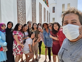 Sinh viên Việt tại Morocco chung tay ủng hộ thực phẩm chống dịch COVID-19