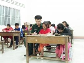 Lớp học cho trẻ em Việt kiều Campuchia - sợi dây gắn kết với quê hương