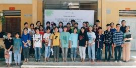 GNI tổ chức tập huấn về sức khỏe sinh sản cho gần 30 học sinh tại huyện Quang Bình, tỉnh Hà Giang