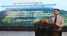 MCNV phối hợp với EU hỗ trợ 3.000 người dân Quảng Trị ứng phó với biến đổi khí hậu và quản lý rừng bền vững