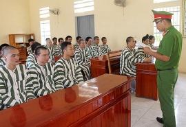 Phổ biến kiến thức pháp luật lồng ghép học nghề tại Trại tạm giam tỉnh Điện Biên