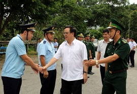 Cửa khẩu quốc tế Tây Trang tăng cường công tác đối ngoại biên phòng trong tình hình mới