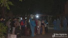Nghệ An tiếp nhận cách ly 97 công dân nhập cảnh từ Lào