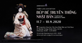 Cơ hội chiêm ngưỡng 32 tác phẩm búp bê truyền thống Nhật Bản tại Hà Nội