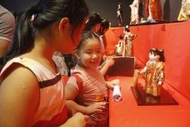 32 tác phẩm búp bê tái hiện văn hóa truyền thống Nhật Bản giữa lòng Hà Nội