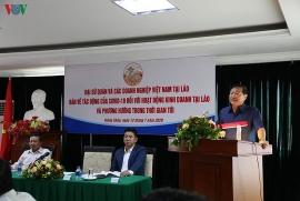 Tháo gỡ khó khăn cho doanh nghiệp Việt Nam đầu tư tại Lào hậu COVID-19