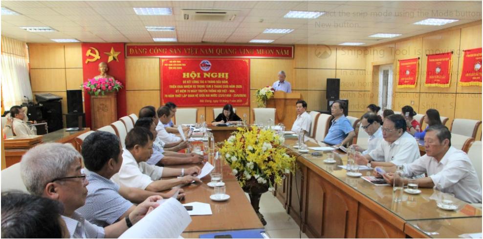 Hội hữu nghị Việt - Nga tỉnh Bắc Giang kết nạp thêm 3 thành viên mới