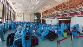 Hơn 300 công dân Việt Nam từ Đài Loan (Trung Quốc) đã về nước an toàn