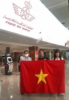 Đưa gần 270 công dân Việt Nam từ các nước châu Phi, châu Âu về nước
