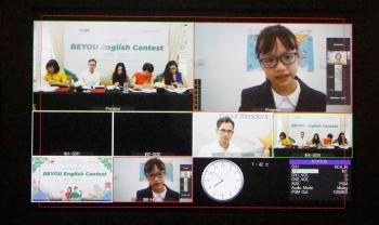 Thí sinh Đào Liên Hà - Tiểu học Brendon giành giải nhất cuộc thi Tiếng Anh toàn quốc BEYOU