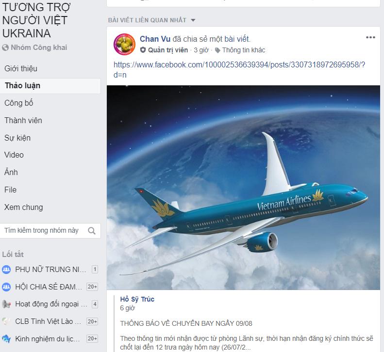 Nhóm tương trợ người Việt Ukraine - kênh kết nối người Việt Nam xa quê hương