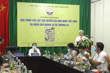 Việt Nam đã khẳng định chủ quyền với Hoàng Sa, Trường Sa từ nhiều thế kỷ trước