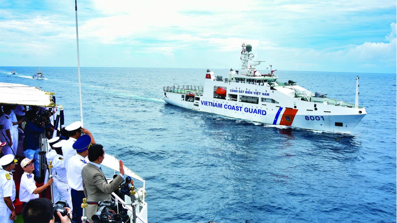 Nhìn lại hiệu quả áp dụng Luật Cảnh sát Biển Việt Nam từ đầu năm 2021