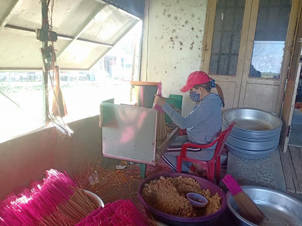 Quảng Nam: Làng nghề Quán Hương tất bật cho vụ Tết