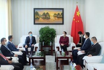 Lãnh đạo TP Đà Nẵng thăm và chúc Tết Tổng Lãnh sự Trung Quốc và Hàn Quốc