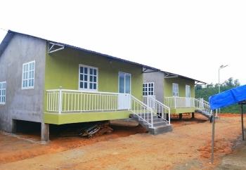 Người dân Trà Leng có nhà mới ngay trước Tết Tân Sửu
