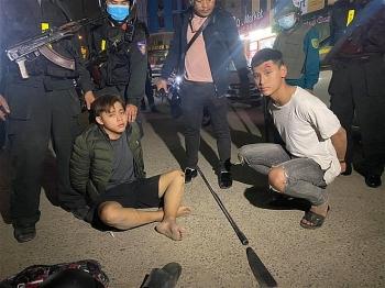 Công An Đà Nẵng nổ súng bắt gọn nhóm đối tượng mang vũ khí tham gia hỗn chiến
