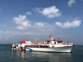 Mở tuyến đường thủy Đà Nẵng - Lý Sơn tạo đà cho du lịch vùng phát triển