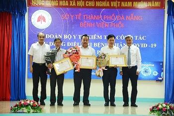 Bộ Y tế đã tặng Bằng khen cho các cá nhân, tập thể tại Đà Nẵng