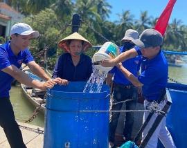 Quảng Nam: Nước sạch về 'đảo khát' Tam Hải